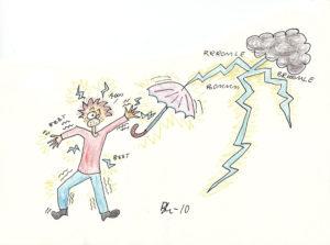 Kapittel 6 - Fredrik får strøm i seg fra lynet